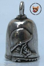 SUPPORT OUR TROOPS GREMLIN RIDE BELL **MADE N USA** PEWTER MOTORCYCLE BELL