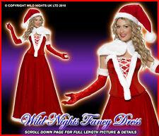 CHRISTMAS FANCY DRESS # VICTORIAN SEXY SANTA LG 16-18