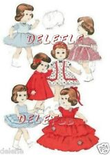 7971 Vintage Doll Clothing Pattern Littlest Angel 11""
