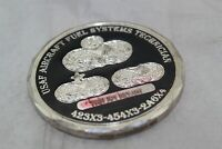 USAF Aircrafty Fuel Systems Technician Open Fuel Tanks Challenge Coin