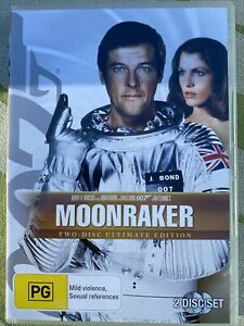 James Bond 007 In Moonraker DVD Movie. 2 Disc Ultimate Edition. Free Postage.