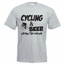 CYCLING & BEER - Cyclist / Cycle / Biking / Sport / Funny Gift Idea Mens T-Shirt