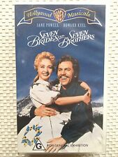 SEVEN BRIDES for SEVEN BROTHERS ~ JANE POWELL and HOWARD KEEL ~ VHS VIDEO