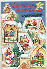 Vintage CHRISTMAS FUN'N GAMES bk 1970 uncut/unusd PAPER DOLLS/CARDS/SANTA PUPPET