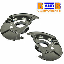 BMW E36 Z3 FRONT DISC PROTECTION BRAKE BACK PLATES PAIR A1175