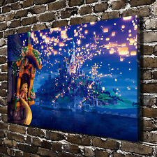 """Disney Tangled  HD Canvas Print 20""""x32"""" Home Decor Paintings Wall Art Pictures"""