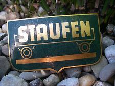 seltene Fahrzeugwerke R. Rayer Eislingen Fils STAUFEN LKW Kühler Emblem Plakette