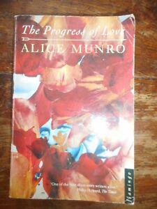 The Progress Of Love Alice Munro 1988 Paperback Book