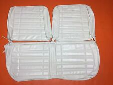 1970 Dodge Coronet Seat Covers Front Split Bench Upholstery Super Bee White