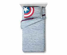 Avengers Captain America Twin 3 Piece Sheet Set Microfiber Marvel Comics 28021