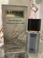 LAPIDUS POUR HOMME EAU DE TOILETTE SPRAY 30ML VINTAGE RARO TED LAPIDUS PARIS EDT