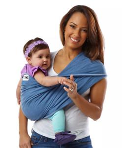Baby K'Tan BABY CARRIER Original, (Denim, Size XS) MSRP $50