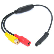 Car Video Cable RCA-4PIN For Car Rear View Camera Connect Car Monitor DVD DPR$m