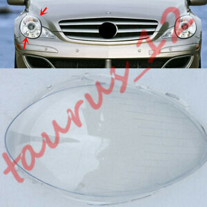 For Mercedes Benz R320 2006-08 Right Side headlight Cover transparent PC+Glue