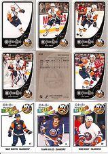 2010-11 OPC O-Pee-Chee New York Islanders Complete Team Set w/ Leaders (23)