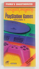 1998 Pocket Power Guide for PlayStation Games VOLUME 3 CHEATS PAPERBACK BOOK