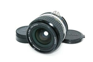 Nikon Ai-S AIS NIKKOR 24mm f2.8 Wide Angle Lens from Japan Excellent