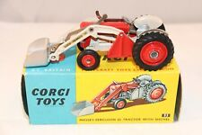 Corgi Toys 53 Massey-Ferguson 65 Tractor with shovel very near mint in box