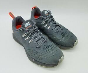 Nike Air Shield Zoom Winflo 4 Women's Running Shoes Grey Sneakers Size 8.5