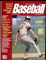 1980 Street & Smith's Baseball Yearbook Mike Flanagan EX 010417jhe