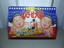 Tomy Smash Retro Sumo Ring Game - Aim to be Ozeki - 1992 Japan