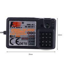 New FlySky FS-GT3C GT2B GT3B 2.4Ghz 3CH Receiver For RC Car Boat Transmitter OT