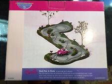 Dept 56 Barbie Out for a Ride Christmas slot car set