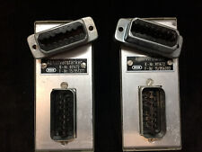 WSW Siemens & Halshke 811 472 Abhorverstarker pair Amplifier monitoring speakers