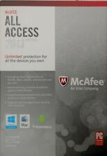 McAfee All Access Antivirus 2013 : Windows & Mac : New in sealed retail box