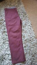 Jeans 34x29 Col Borgoña Calce Recto BNWT