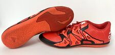 Adidas X 15.3 Chaos Low Mens Orange Indoor Turf Soccer Shoes Size 7 S83191
