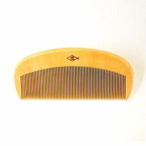 Japanese Traditional Boxwood Comb Brushes  SATSUMA Tsuge Kushi MADE IN JAPAN