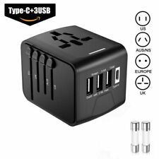 Universal Travel Adapter One International Wall Charger AC Plug Adaptor.