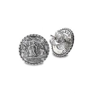 Orecchini in argento 925/000 della linea moire Gerardo Sacco