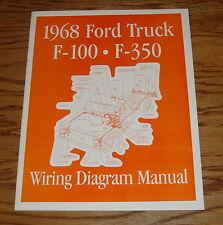 1968 Ford Truck Wiring Diagram Manual 68 F-100 F-350