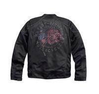 Harley-Davidson Men's Exodus Black Mesh Motorcycle Jacket 97209-17VM