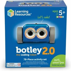 Learning Resources Botley 2.0 Children's Coding Robot 78 Piece Activity Set