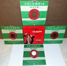 1950 LES BROWN CLASSICS IN RHYTHM COLUMBIA 4X 45 EP BOX SET #B-221 EXCELENT