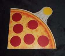 1 VINTAGE 1987 PIZZA PARTY PARKER BROTHERS GAME PART PIECE YELLOW SLICE ONLY