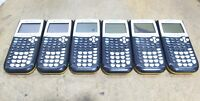 LOT of 6 Texas Instruments TI-84 Plus Graphing Calculators For Parts/Repairs