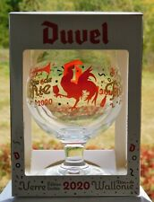 * Verre DUVEL COLLECTION Duvel glass waalse f. Collector fetes de wallonie 2020