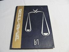 "1967 Arnold Junior High School Yearbook Columbus Georgia ""Barrister"" Students"
