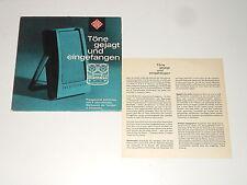 """Töne gejagt und eingefangen - 7"""" EP - 1960 - Ronald P. Guttridge - Beat'n Heart"""