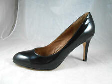 "Elegant  CORSO COMO ""Del""  Diamond Sole High Heel  Black Patent Pumps 10 M"