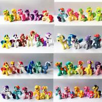 "LOT 15 Original Pony Friendship is Magic 2"" MLP figure Cake Topper Toy"