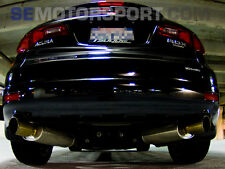 TSUDO universal SP2 deep Tones oval muffler For Acura Rsx Tsx TL Integra CL