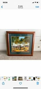 painting Pro Hart original framed and signed