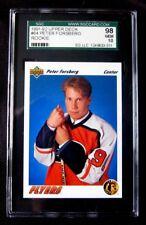 1991-92 PETER FORSBERG UPPER DECK 91-92 UD RC ROOKIE CARD #64**GEM MINT**
