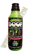 Goop Tyre Puncture Sealant Puncture Preventer / Proofer Kit 500ml Bottle UK Made