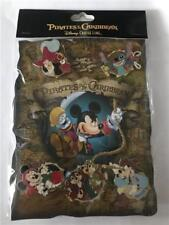 2007 DCL PIRATES OF THE CARRIBEAN COLLECTOR SET DISNEY 5 PINS 56026